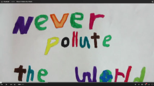 never pollute